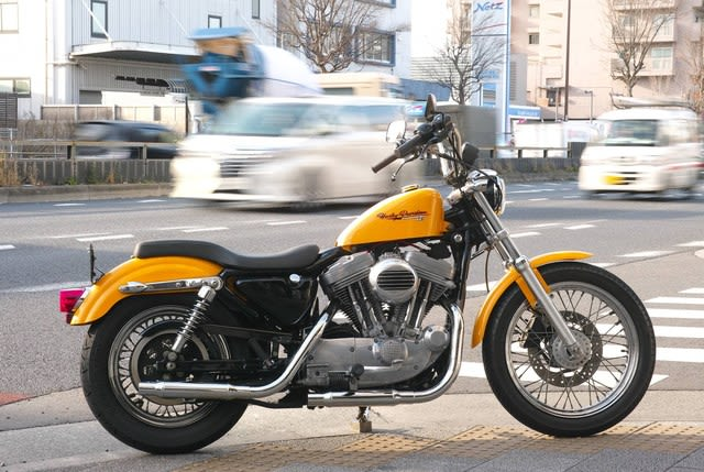 Sold out! '01 XLH883Hハガー