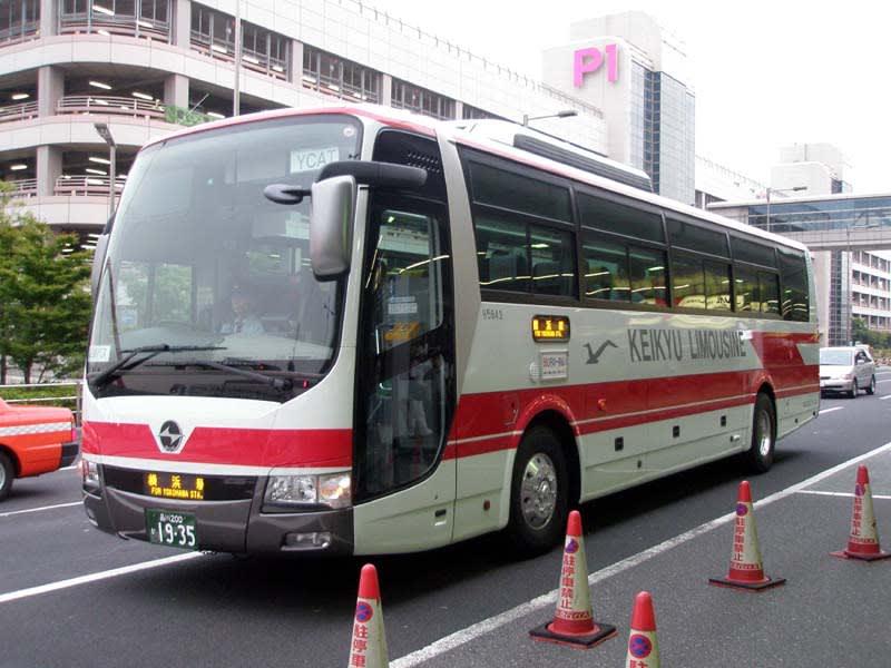 京急リムジンバスで活躍するAEROACE~横浜駅東口=羽田空港間の ...