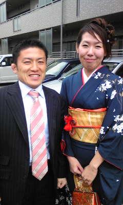 本間夫妻(^O^)