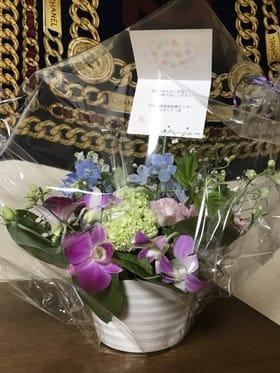 JARMeCの先生スタッフさんからお花