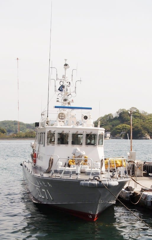 CL-71巡視艇 あだん→からたち 20...
