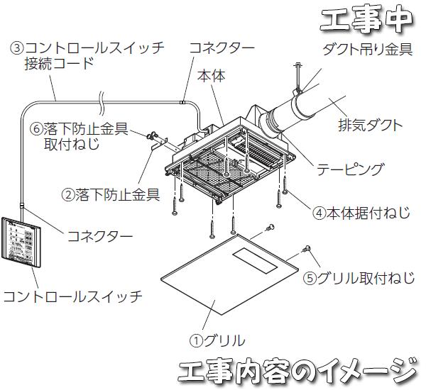 V-141Zの工事イメージ
