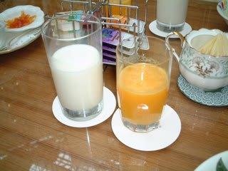 ジュース&ミルク