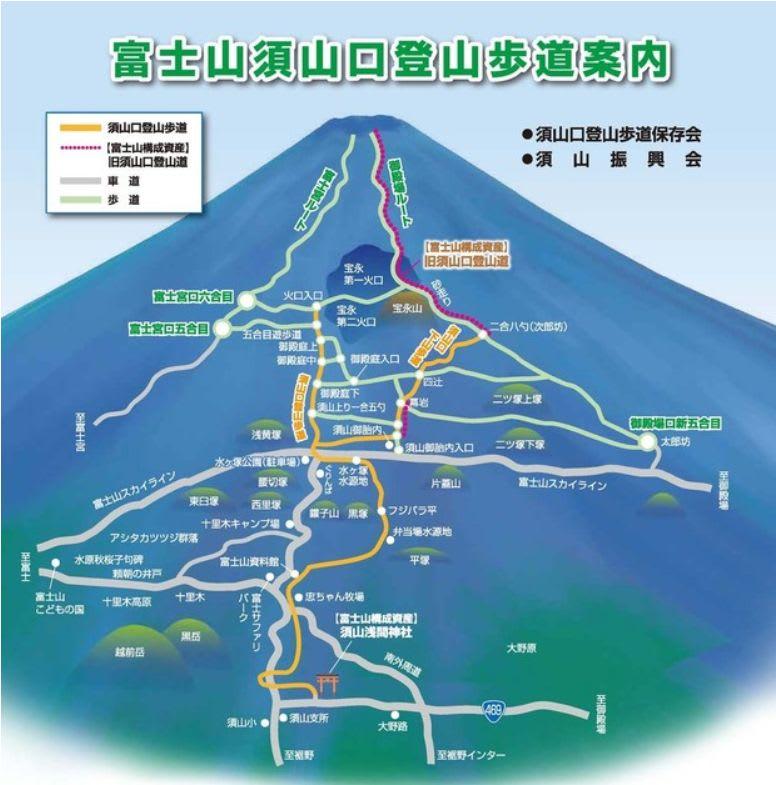 富士山須山口登山道 - 平地トレイルランナーの憂鬱