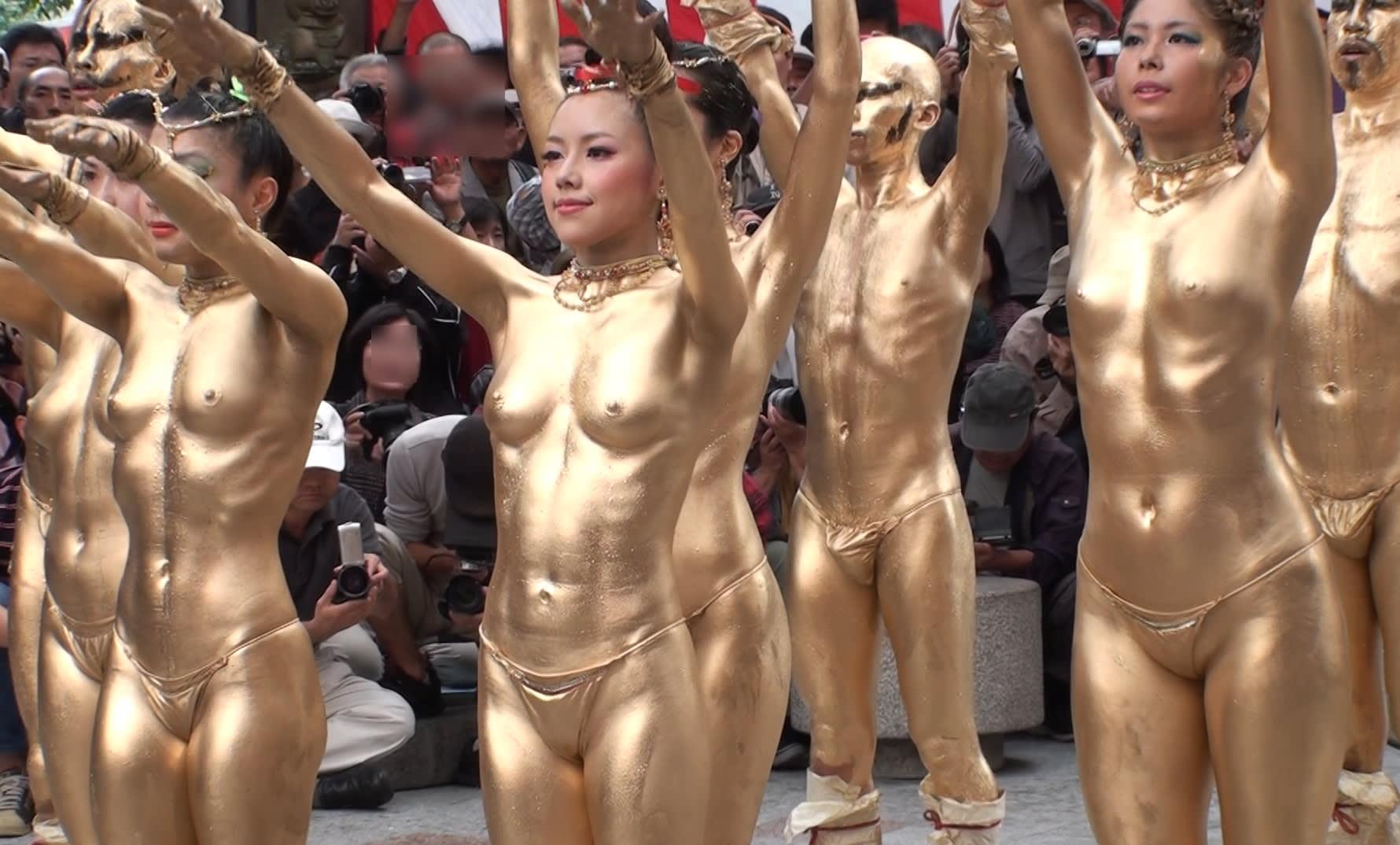 金粉ショー 盗撮 金粉ショー @ 大須大道町人祭 Oct 14 2012 #94