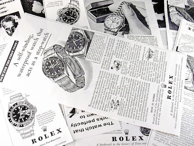 ロレックスの技術革新と当時の日本人