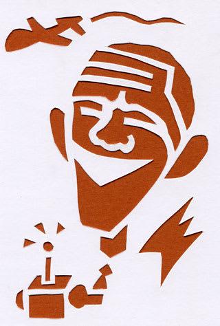 バラク・フセイン・オバマの似顔絵