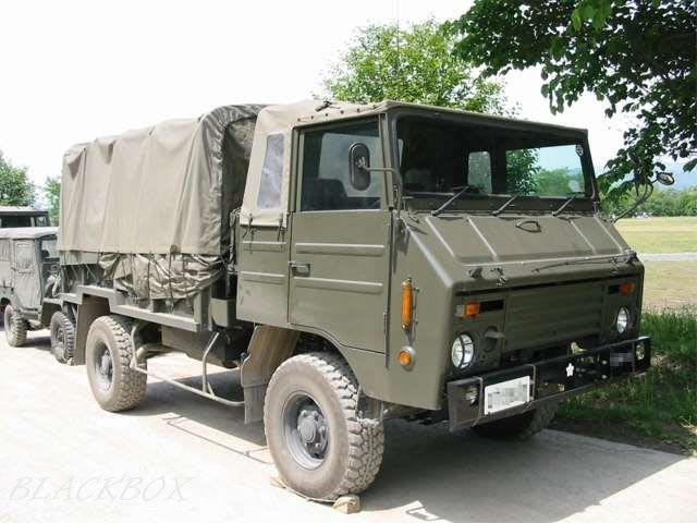 自衛隊の73式中型トラックは払い...