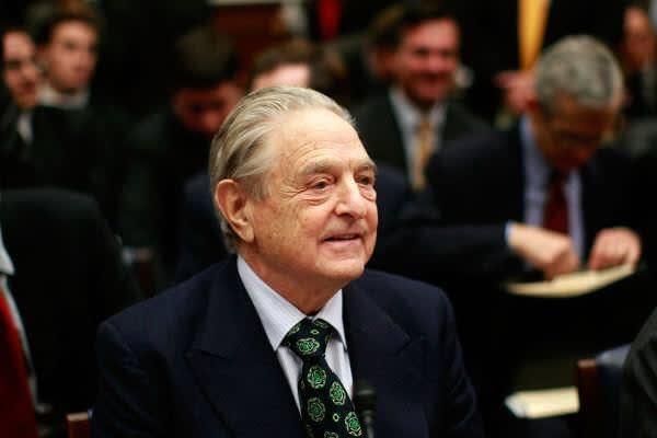 """◯ George Soros:: """"A large-scal..."""