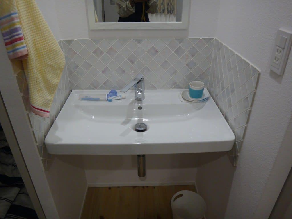 わらび邸2階洗面台