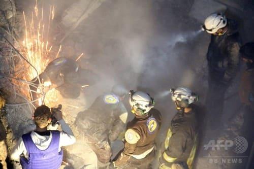 EMERALD WEB≪拝啓 福澤諭吉さま≫シリア・アレッポでモスク空爆か 「42人死亡」と民間団体発表シリアのモスク空爆、米軍が実施 「標的はアルカイダ」