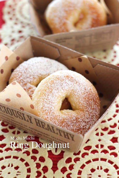 パン屋さんのようなリングドーナッツ - マイティの Awesome Cooking