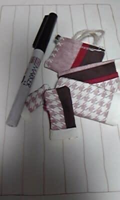お店屋さんの買い物袋(+_+)