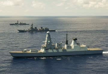 アメリカ海軍,英国海軍,オランダ海軍,海上自衛隊,大規模広域訓練2021,LSGE21,空母クイーンエリザベス,台湾海軍,戦艦,