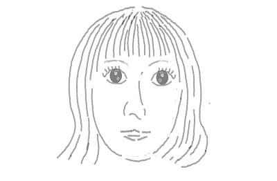 きゃりーぱみゅぱみゅさんの似顔絵 爺チャンのイラスト帳