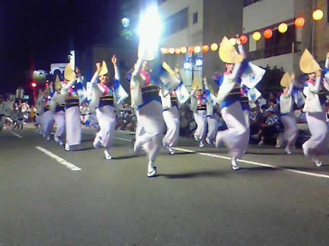 阿波踊り開幕