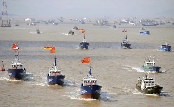 「尖閣諸島 中国公船 領海侵犯」の画像検索結果