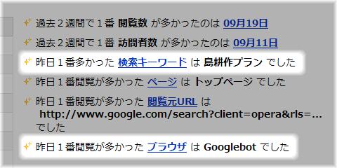 gooブログのアクセス解析