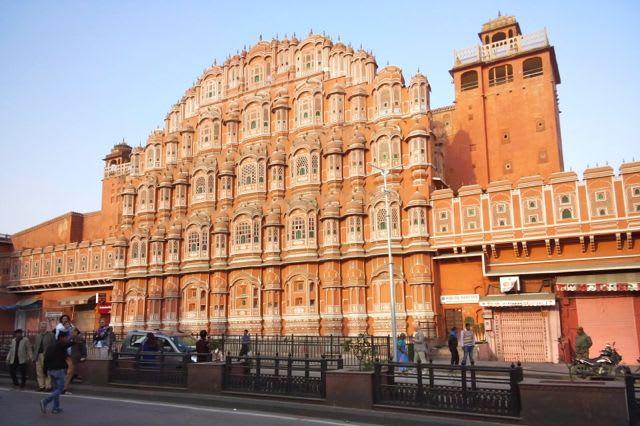北インド旅行3日目ジャイプール旧市街 - あられの日記