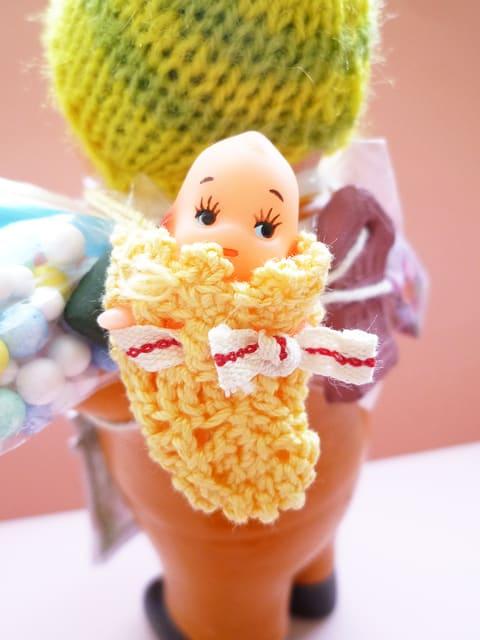 エケコ人形用小物 赤ちゃんが欲しい☆ ひよこ 【小物のみの価格】