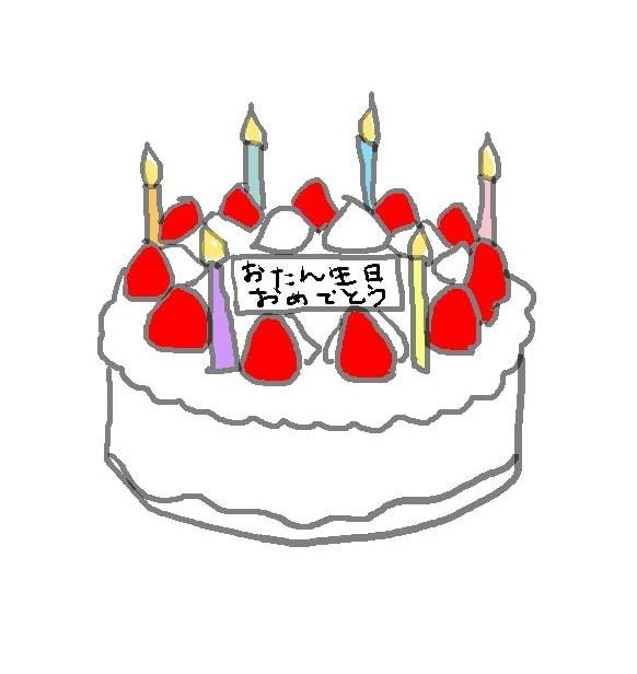 お 誕生 日 おめでとう イラスト