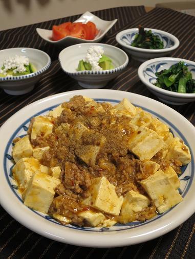 スッキリ 麻 婆 豆腐