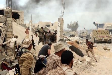 リビア 過激派掃討が一定に進展 ...