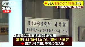 2020 05 01 PCR検査、38件誤って「陽性」 横浜の民間検査会社【わが郷投稿記事内の保管記事】