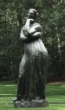 ペネロープ【わたしの里の美術館・彫像】