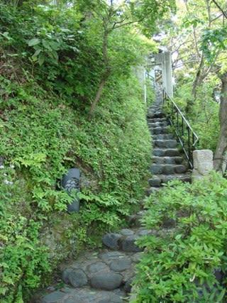 古今坊の階段