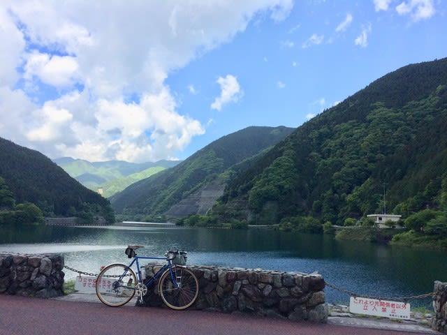 名栗 有間ダム ランドナー サイクリング 自転車
