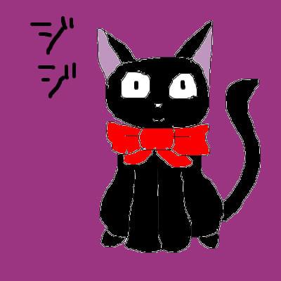 α04 29 魔女の宅急便 ジジ 黒猫キキのパートナージブリがいっぱい編2