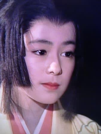 後藤久美子さんのポートレート