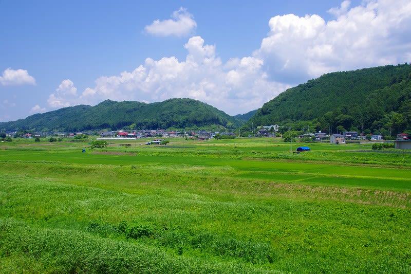 那珂川町馬頭 松野の田園風景 27...