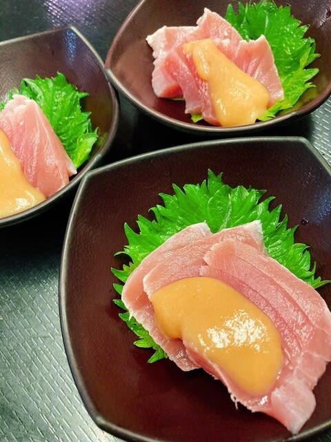 マグロ酢味噌