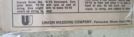 Yoyo_union_wadding_company