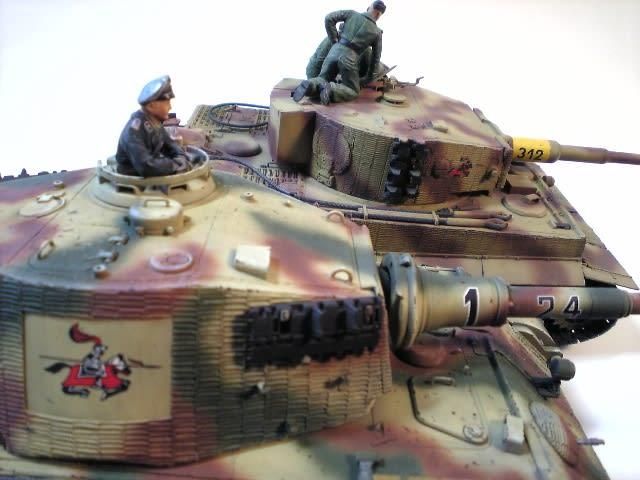 第505重戦車大隊のキングタイガー完成 7 - イマドコ?いまここ。