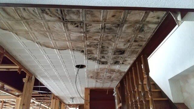 鉄骨造住宅雨漏りの写真