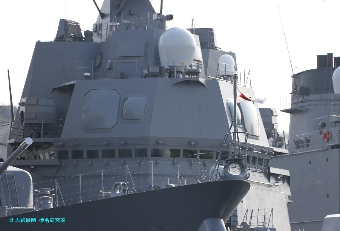 しらぬい横須賀寄港-最新鋭あさひ型護衛艦二番艦を初撮影,陽炎型駆逐艦 ...