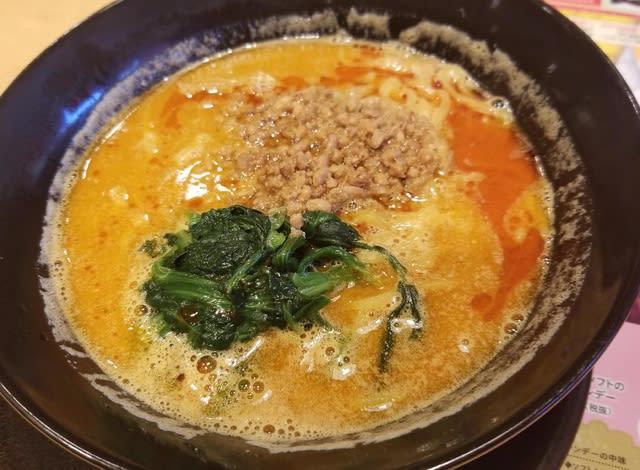 肉 味噌 坦々麺