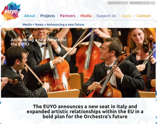 管弦楽団EUYO、EU離脱でイギリス...