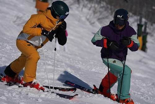 神田 う の スキー