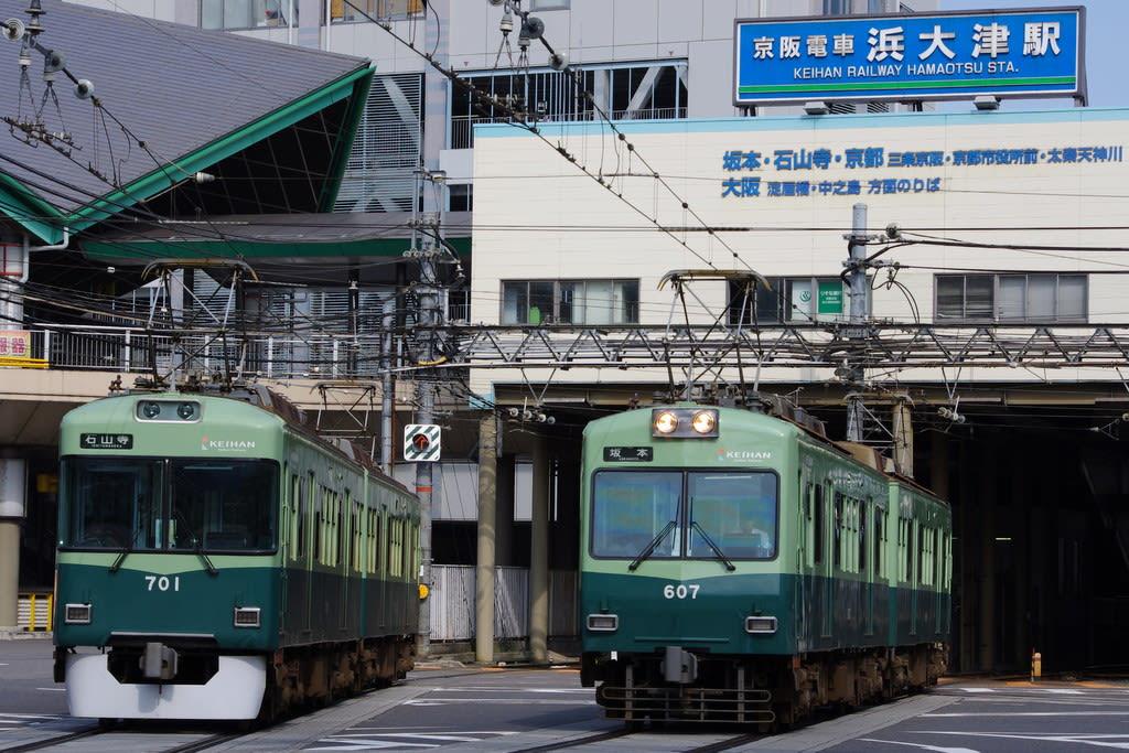京阪600形と700形