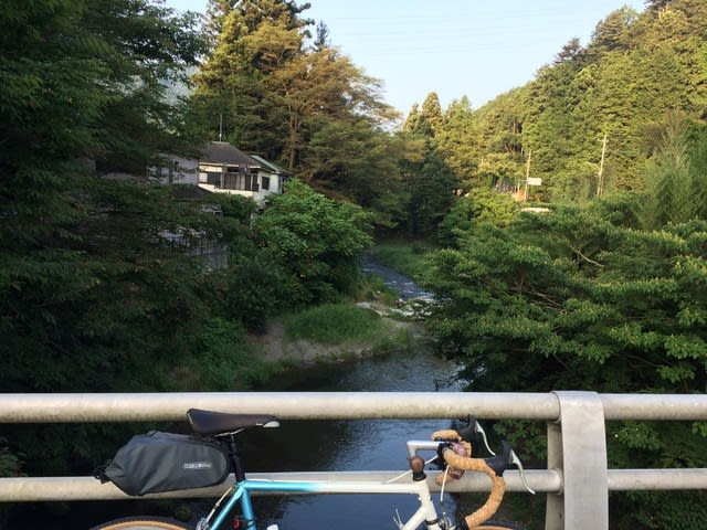 青梅 名栗 クロモリロード サイクリング 自転車