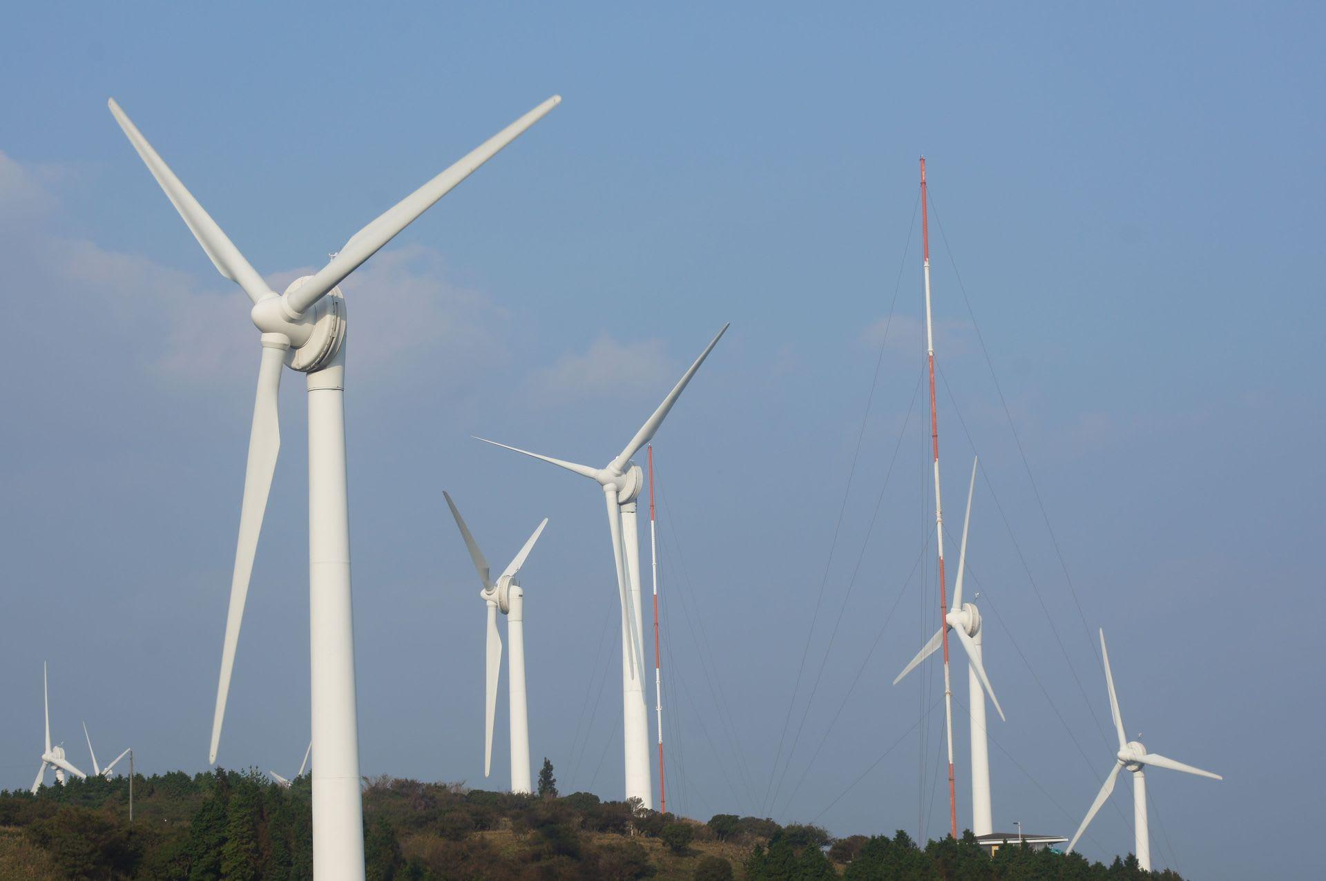 青山 高原 風車