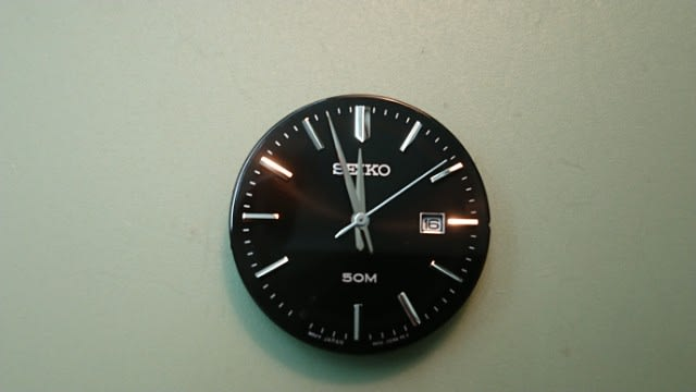 98be75e435 植字の接着 - 1級時計修理技能士 東京練馬 富屋時計店 ブログ
