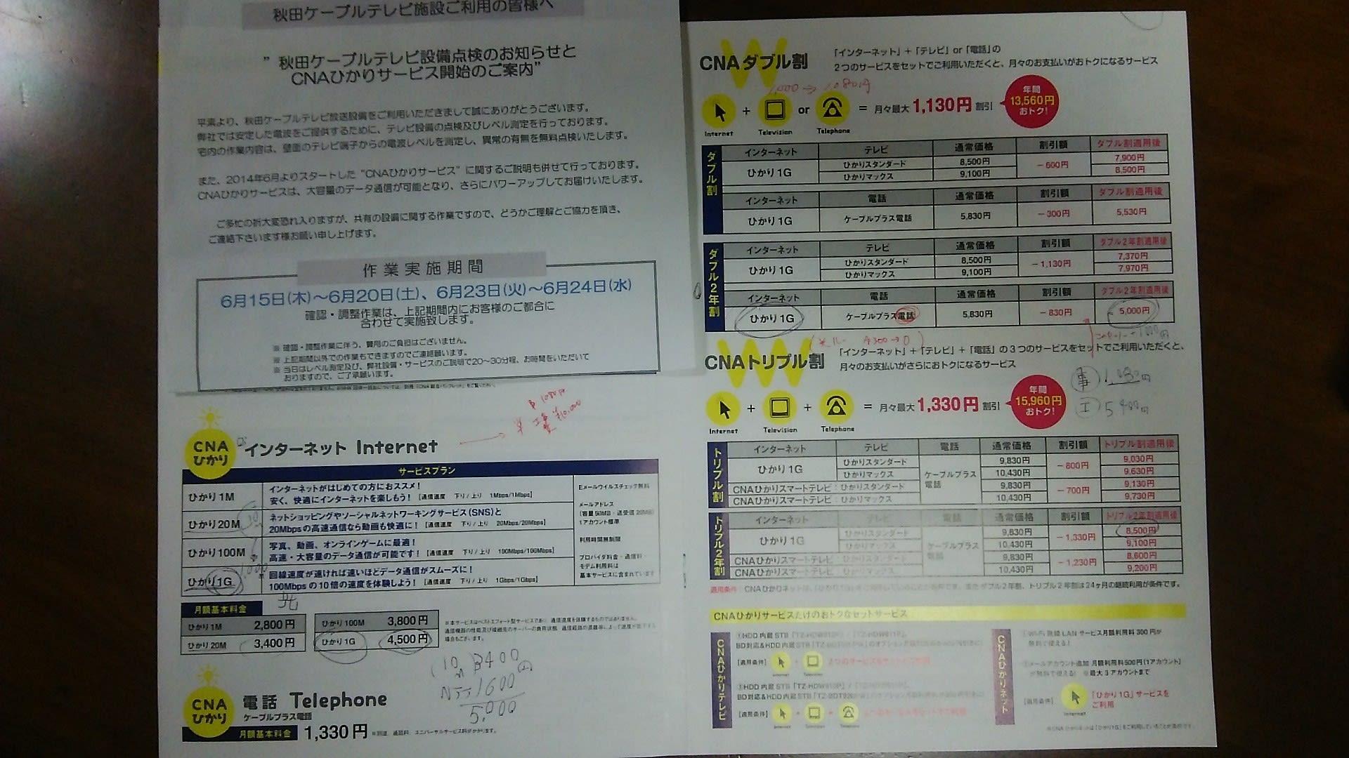 ケーブル テレビ 秋田