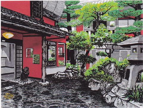 ジュディ・オング倩玉 木版画の世界展 堺市立東文化会館 - gooな話し