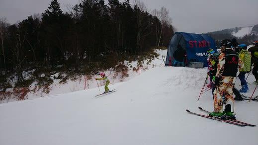 北日高岳大回転スキー選手権 - エゾリスくるみちゃん便り