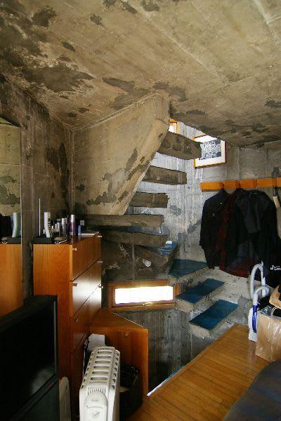 塔の家の階段